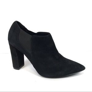 Marc Fisher mfhydra Black suede ankle boots 7.5